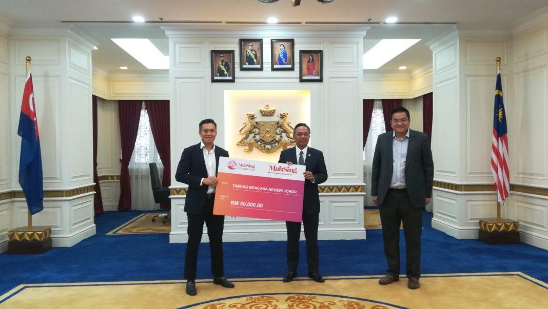 Mah Sing Foundation Donates RM50,000 to Tabung Bencana Negeri Johor
