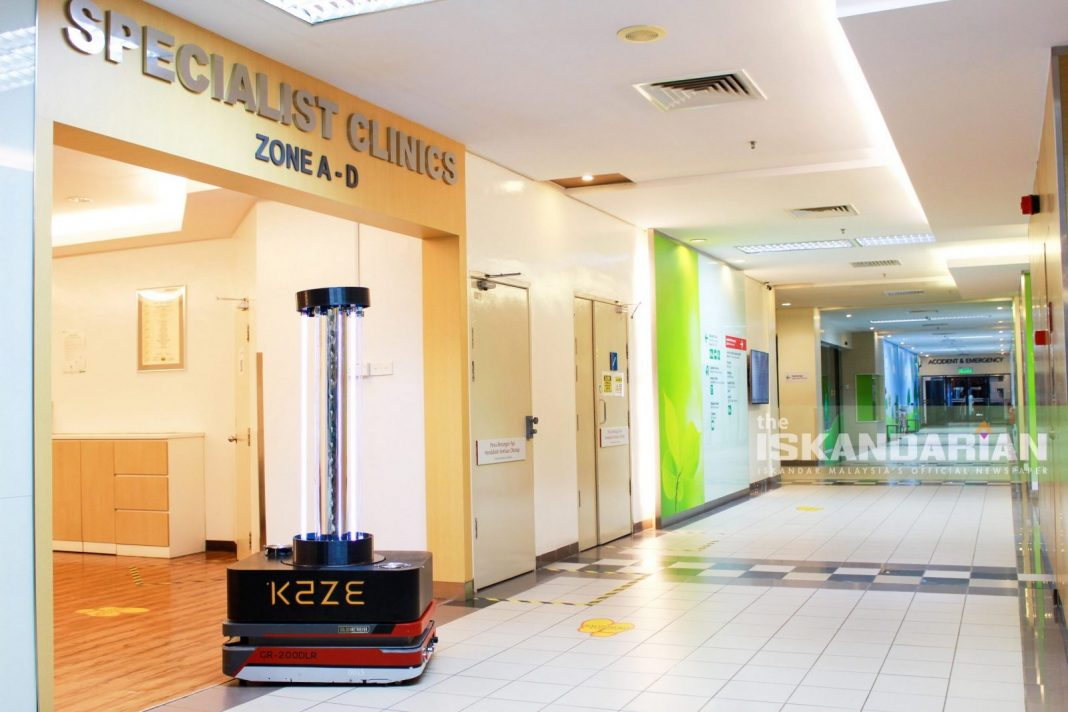 Regency Specialist Hospital Leverages on Latest in Robotics and Disinfecting Technology