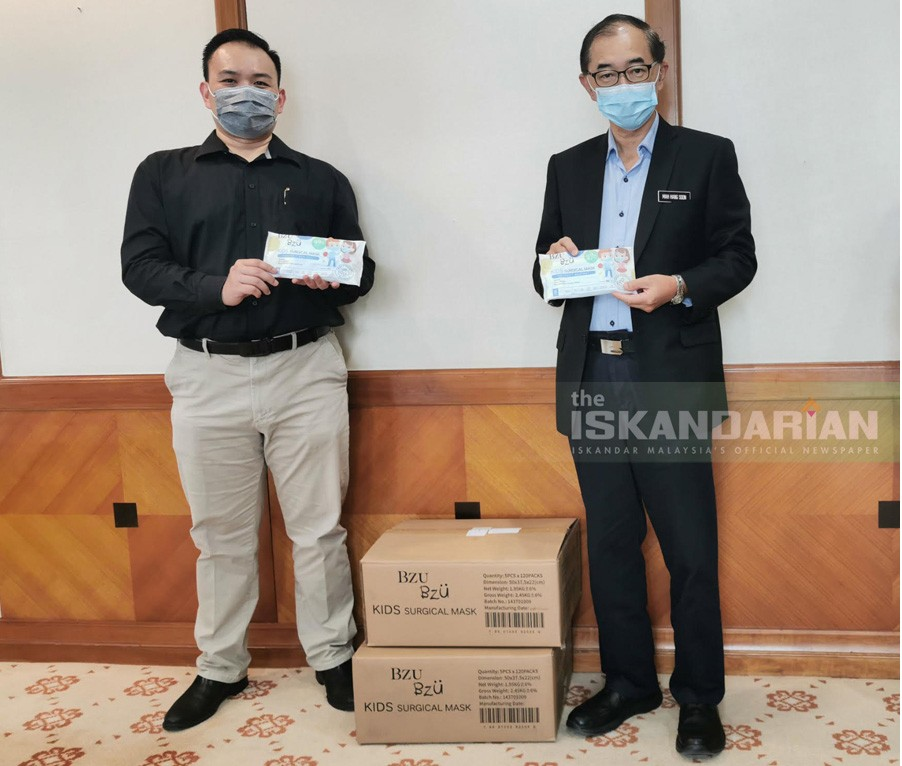 Family Care Brand, BZU BZU Donates Disposable Children's Medical Masks to the Ministry of Education