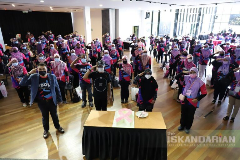 TLJCF Helps Boost Cancer Fighters Morale to 'Be Bold'