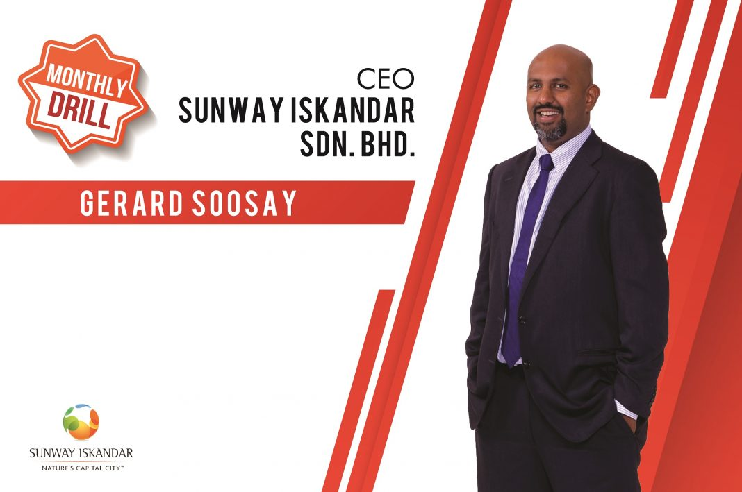 CEO Sunway Iskandar