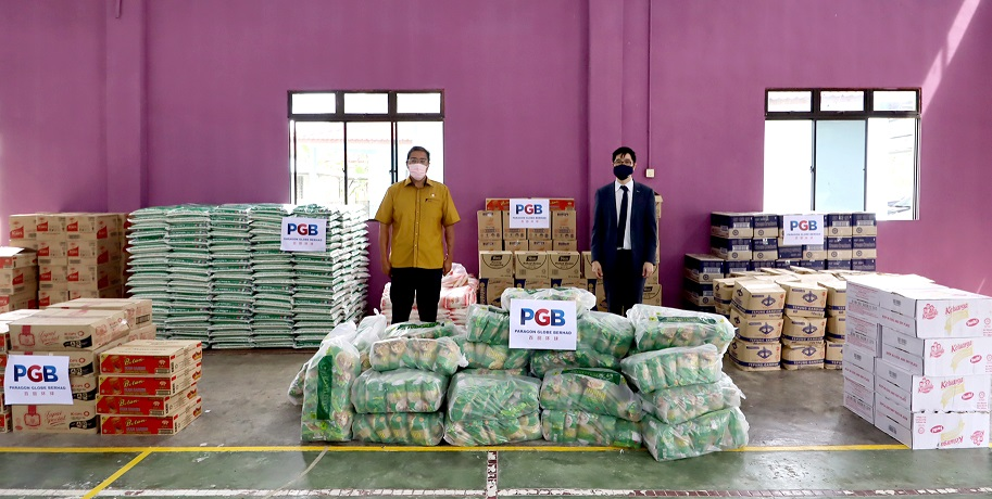 RM20,000 Worth of Essential Food Items Donated