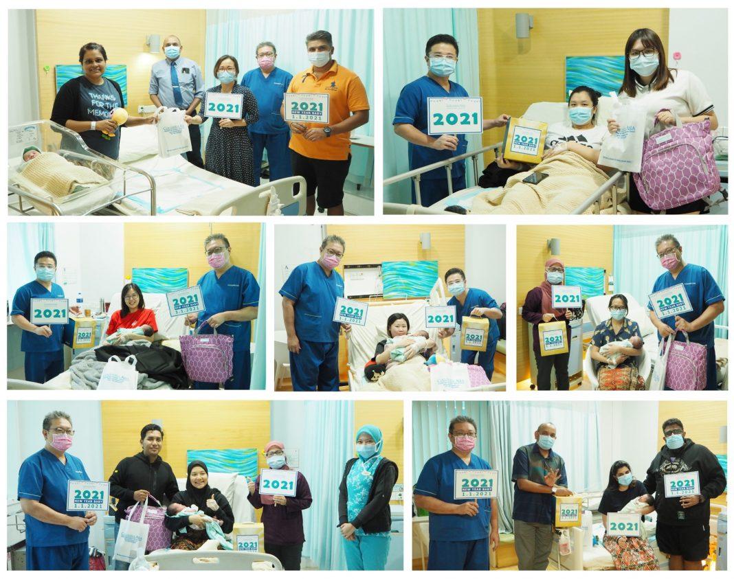 Columbia Asia Hospital - Iskandar Puteri Welcomes Seven New Year 2021 Babies