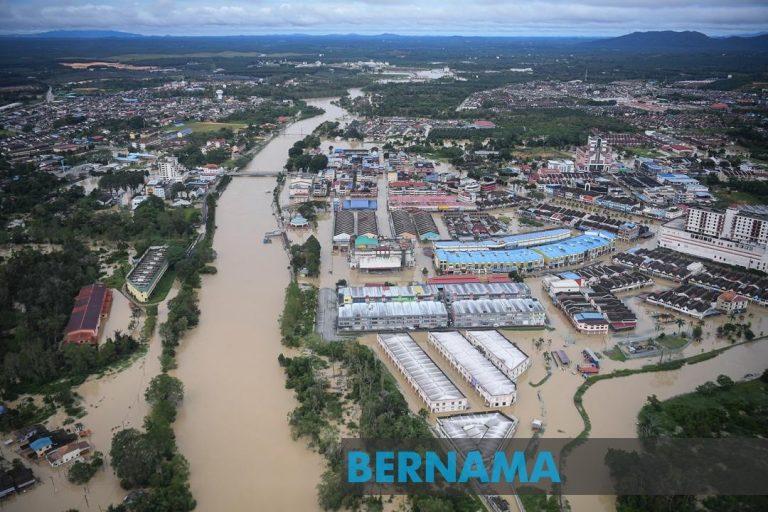 Johor Underwater: Flood Updates (4th Jan 2021)