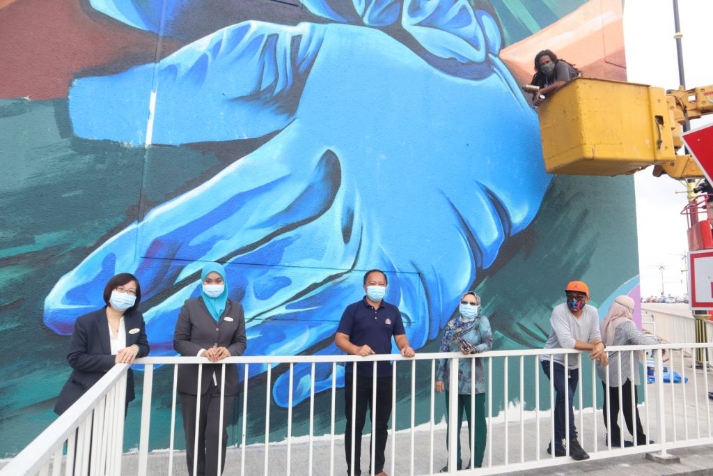 A Gigantic Mural in the Works