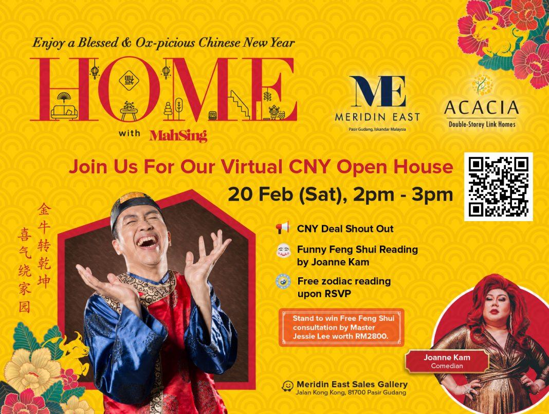 Virtual CNY Open House