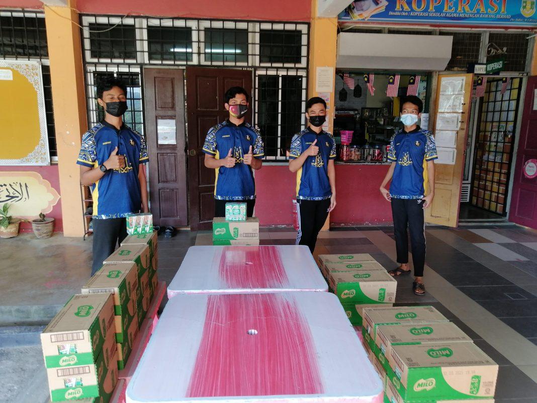 Students of SMA Rawang