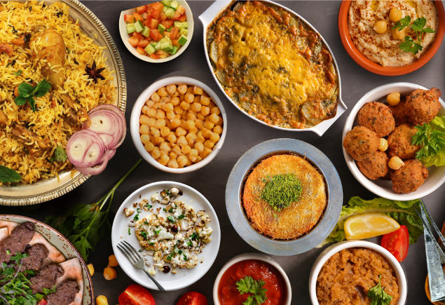 Take a Break and Delight in Middle Eastern Flavours
