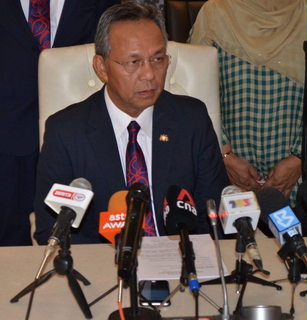 Johor Menteri Besar Datuk Ir. Haji Hasni Mohammad
