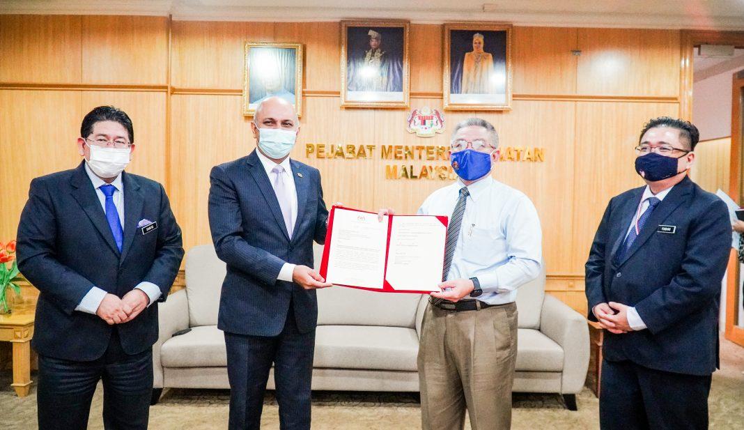 Dato' Sri Dr Adham bin Baba, Minister of Health Malaysia,