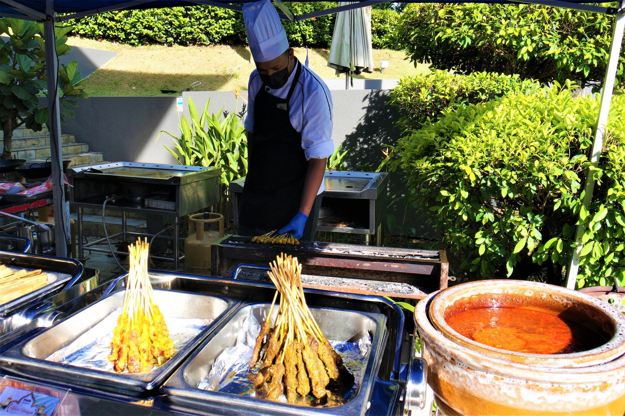 Freshly Grilled Satay