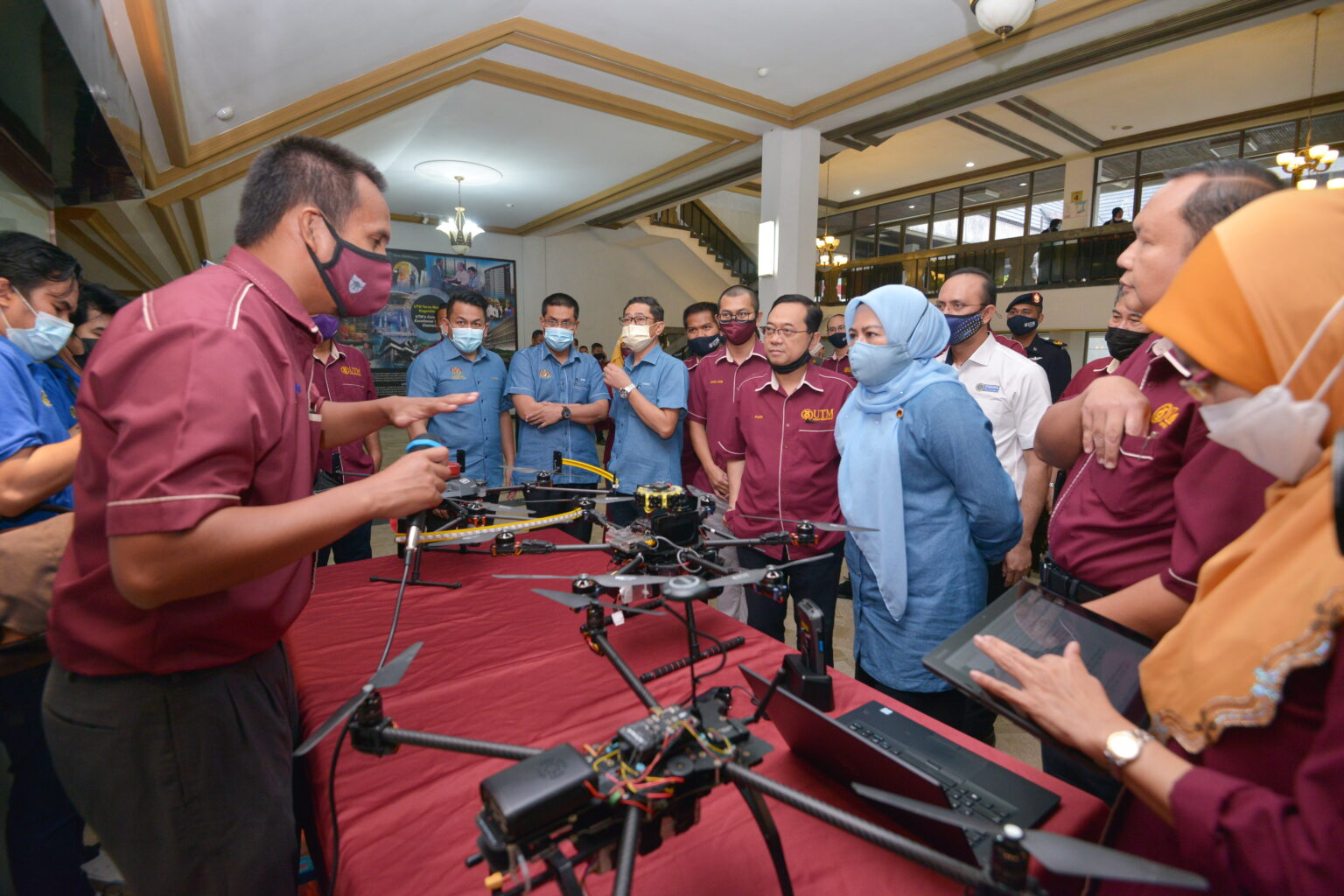 JAGADrone: UTM Pioneers Drone Technology for Campus Security