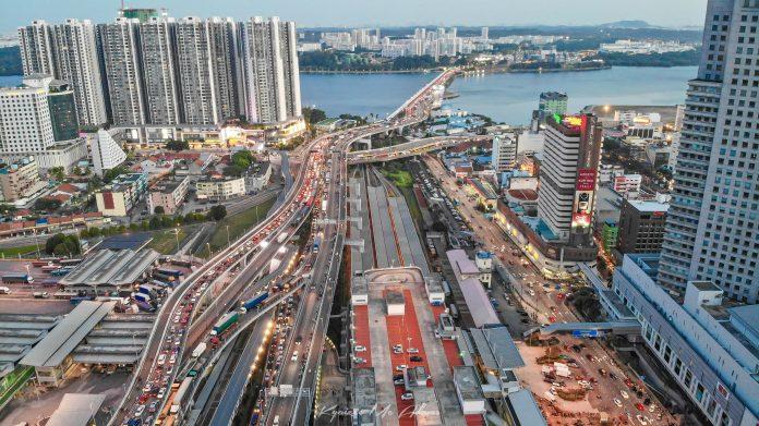 Johor Bahru city