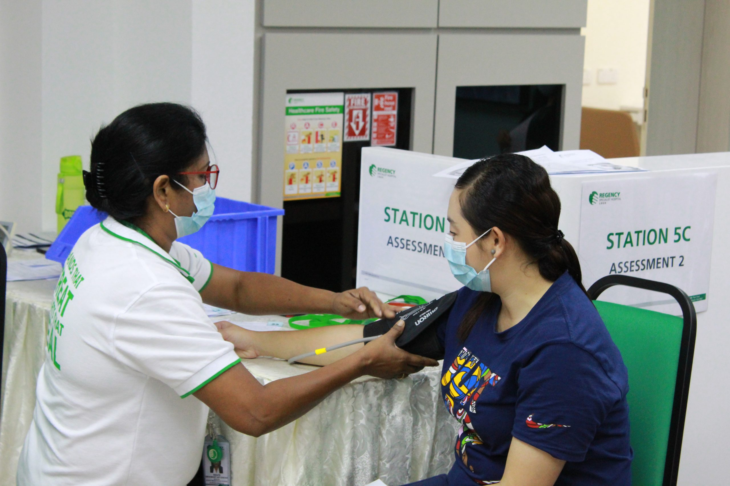 Over 1,300 Frontliners in Melaka and Johor Vaccinated